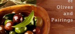 olive types and their food drink pairings